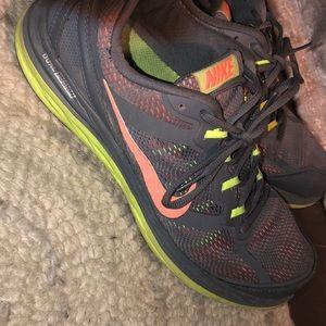 Nike dual fusion running shoes.